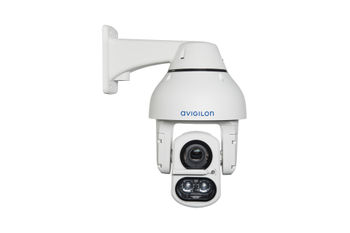 Avigilon H4 IR PTZ camera (front view)
