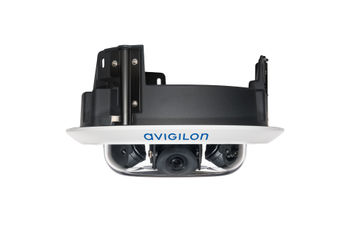 Avigilon H4 Multisensor in-ceiling mount (3-sensor, side view)