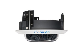 Avigilon H4 Multisensor in-ceiling mount (4-sensor, side view)