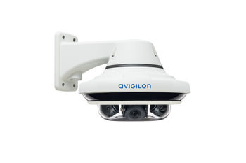Avigilon H4 Multisensor pendant wall mount (3-sensor, side view)