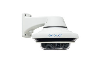 Avigilon H4 Multisensor pendant wall mount (4-sensor, side view)