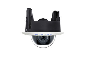 Avigilon H4A indoor in-ceiling dome camera (side view)