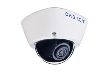 Avigilon H5A dome camera (right ¾ view)
