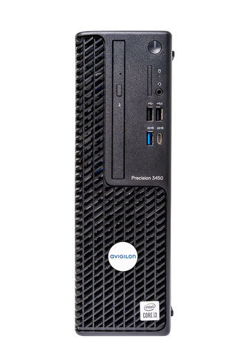 Workstation Series 6 Front (Remote Monitoring Workstation and NVR4X)