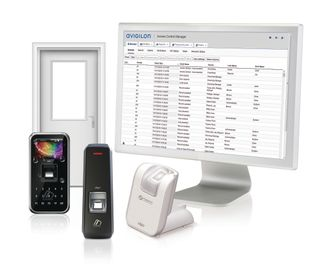 Integration with Virdi's biometric system provides additional authentication for sites requiring a high level of security