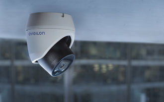 Avigilon H5M outdoor camera provides cost-effective security with AI-powered Unusual Motion Detection technology