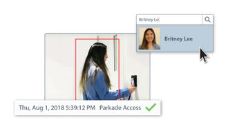 Powerful new Identity Search feature utilizes access control cardholder information with advanced AI and video analytics technology to enhance security