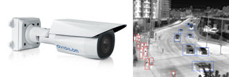 Combination of built in self-learning video analytics and thermal imaging provides accurate detection in a wide range of environments